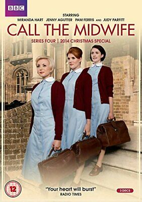 Call The Midwife - Series 4 + 2014 Christmas Special [DVD] - DVD  9QVG The Cheap • 6.71£