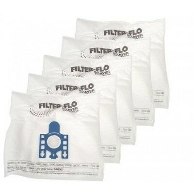 Electruepart Bag 307 5 Pack Vacuum Cleaner Bags To Fit Miele Gn Vacuum Cleaners • 6.75£