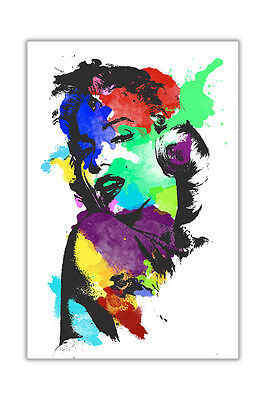 Marilyn Monroe Colour Splash Poster Prints Wall Decoration Art Pictures Pinup • 4.99£