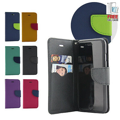 AU5.43 • Buy IPhone 6 6S 7 Plus Case PU Leather Wallet Flip Case Cover For Apple With Gift OZ
