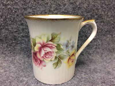Regal Heritage England Bone China Tea Cup Pink & Yellow Roses W/ Gold Trim • 10£