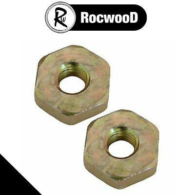 £2.45 • Buy Guide Bar Cover Nuts Pack Of 2 Fits Stihl 046 MS460 Chainsaw