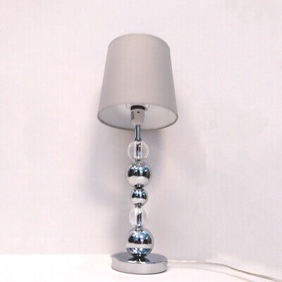 £25.99 • Buy Modern Stacked Ball Table Lamp W/ Light Grey Shade Home Lamp CLEARANCE Litecraft