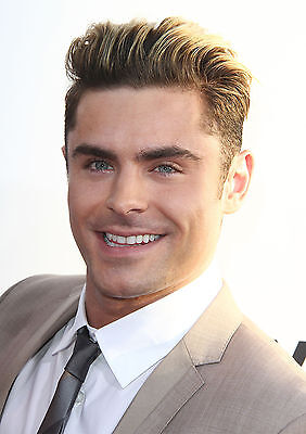 Zac Efron Poster Movie Star Baywatch Bad Neighbours, FREE P+P, CHOOSE YOUR SIZE • 12.90£