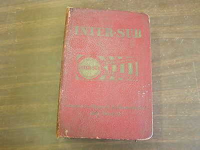 $79 • Buy Universal Inter-sub Master Parts Book 1939 - 1951 Ford Chevrolet Dodge Chrysler