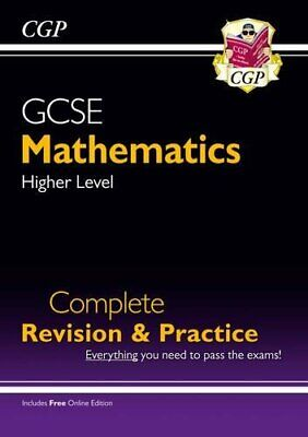 £11.99 • Buy New 2021 GCSE Maths Complete Revision & Practice: Higher Inc Onl... By CGP Books