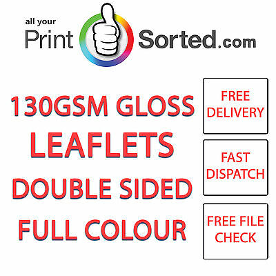 £189 • Buy Leaflets Flyers A5 Gloss Full Colour Single Or Double Sided By Printsorted