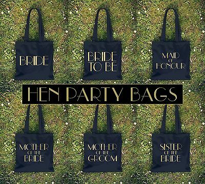 £5.85 • Buy Hen Party Tote Bag Shopper Wedding Do Gift Present Bride To Be Maid Of Honour