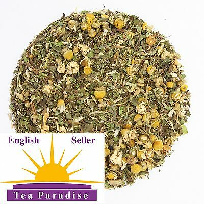 CHAMOMILE SLEEP WELL With LEMON BALM & MINT, INSOMIA RELIEF, SEDATIVE HERBAL TEA • 3.29£