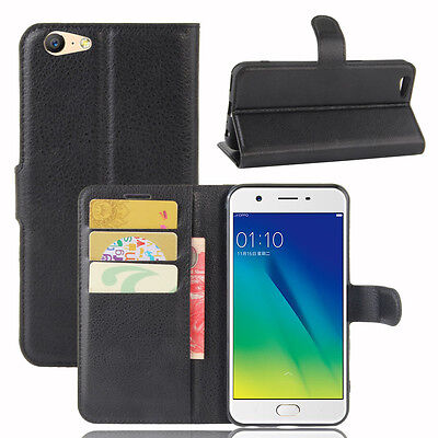 AU17.99 • Buy For OPPO A57 Case Wallet With Card Holder Stand Case Cover For OPPO A57
