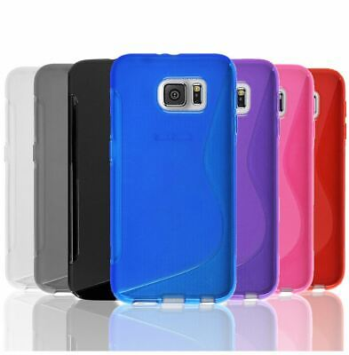 AU3.95 • Buy Slim Soft Gel Case Tough Silicone Cover For Samsung Galaxy S5 S6 Edge S7 S8 Plus