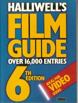 £4.99 • Buy Halliwell's Film Guide (Paladin Books) By Halliwell, Leslie Paperback Book The