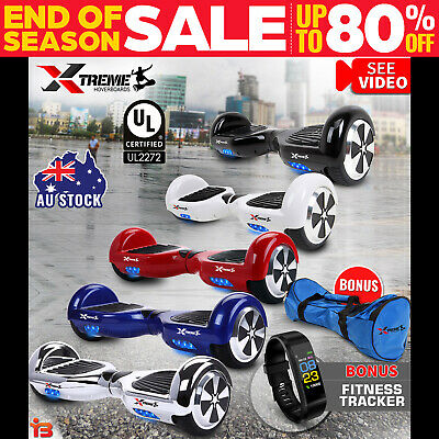 AU289 • Buy XTREME Smart Self Balancing Hoverboard Electric Balance Hover Board