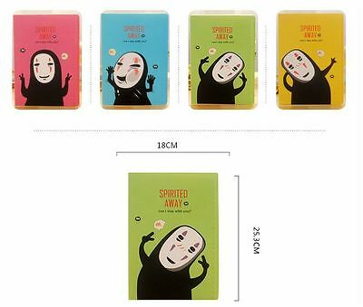 AU9.99 • Buy Set Of 4 - Spirited Away No Face Kaonashi B5 Book Diary Notebook Sketchbook