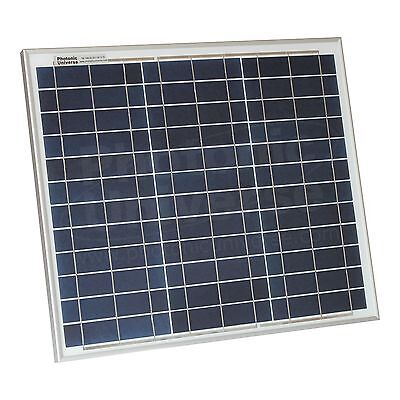 30W Solar Panel With 5m Cable For Motorhome, Caravan, Camper, Boat Or Off-grid • 54.99£