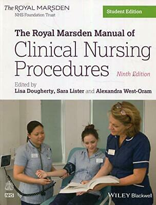 The Royal Marsden Manual Of Clinical Nursing Procedures  By  New Paperback Book • 30.63£