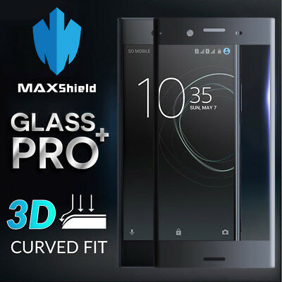 AU9.49 • Buy Curved Full Cover Tempered Glass Screen Protector For Sony Xperia XZ2 XZ Premium