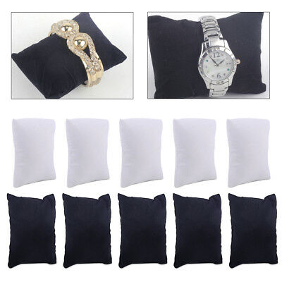 £3.21 • Buy 5pcs Watch Bracelet Anklet Jewelry Display Pillow Cushion Holder Showcase