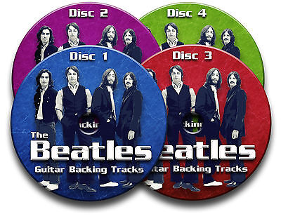 £6.99 • Buy The Beatles Style Rock Pop Guitar Backing Tracks Collection Audio Cd Jam Trax