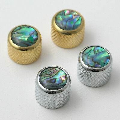 Guitar Abalone Inlay Push On Control Knobs 19mm Diameter K27 • 7.99£
