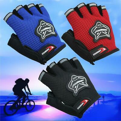 Kids Bike Gloves- Children Cycling Sports Rugby Bicycle Scooter Safety Clothes • 5.29£