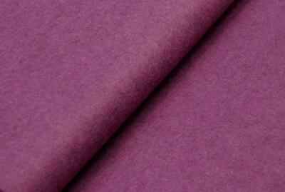 HANDICRAFT Wool/Viscose Felt Fabric Material - MARL PURPLE V17 • 1.99£