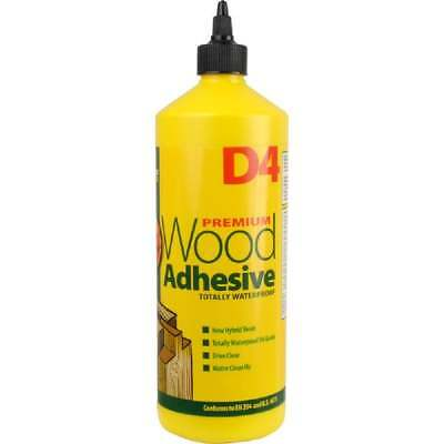 Everbuild D4 Wood Adhesive Glue 1ltr 1 Litre Waterproof Industrial Grade • 9.99£