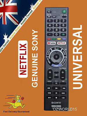 AU36 • Buy GENUINE SONY REMOTE CONTROL For ALL SONY TV NETFLIX Bravia 4k Ultra HD Smart