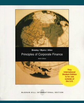 £7.99 • Buy Principles Of Corporate Finance: Pt. E By Allen, Franklin Paperback Book The