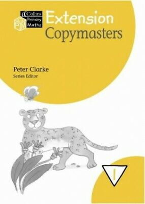Collins Primary Maths �  Year 1 Extension Copymasters Loose-leaf Book The Cheap • 7.99£