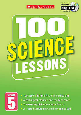 100 Science Lessons Year 5 - 2014 National Curriculum Plan And Teach Study Guide • 14.99£