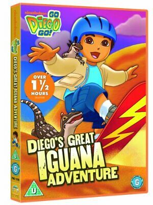 Go Diego Go: Great Iguana Adventure [DVD] - DVD  EAVG The Cheap Fast Free Post • 3.49£