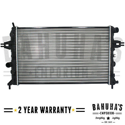 Manual Radiator For Vauxhall Astra G Mk4 / Zafira A 1.4 1.6 1.8 2.2 With Air Con • 24.90£