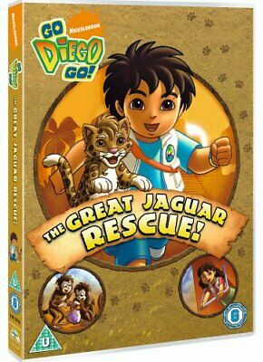 Go Diego Go!: The Great Jaguar Rescue! [DVD] - DVD  1CVG The Cheap Fast Free • 3.49£