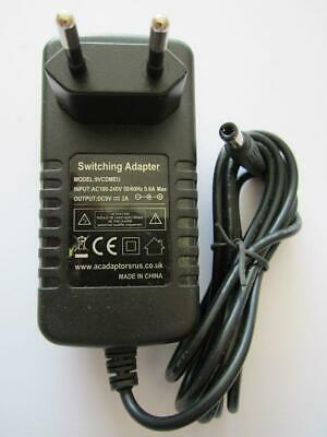 £10.49 • Buy Replacement For SIL AC Adaptor Class II Power Supply Model VD090050I DC 9V 500mA