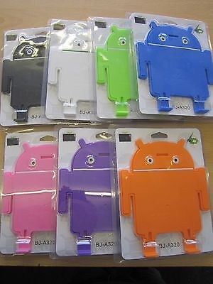 £5.99 • Buy Pink Android Robot Man Angle Stand  Cradle 4 Sumvision Cyclone Voyager