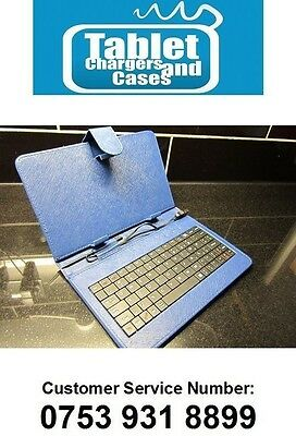 £12.99 • Buy BLUE Keyboard Case/Stand For 7 Inch AllWinner A13 1GHz Android 4.0 Tablet PC