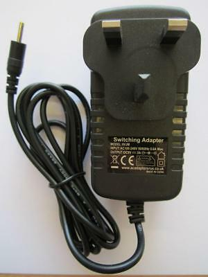 £10.90 • Buy MID 6  F518 Android Tablet 2.5mm DC Plug 9V AC Adaptor Power Supply Charger New