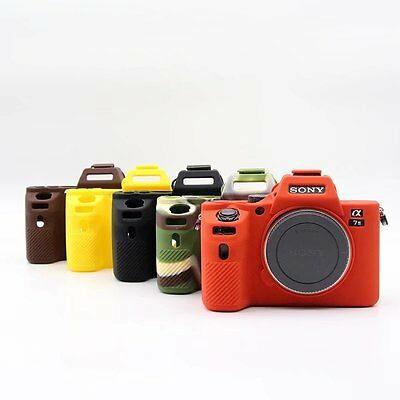 $ CDN17.26 • Buy Silicone Camera Body Cover Case Bag Skin For Sony A7II A7R Mark 2 A7RII A7SII