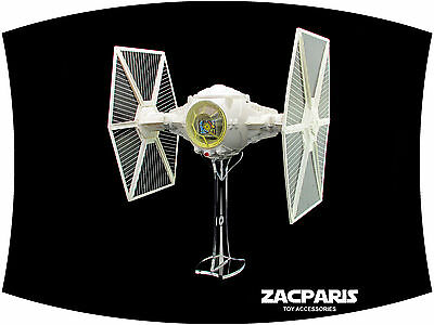 AU18 • Buy Display Stand For Vintage Star Wars Tie Fighter Kenner Hasbro - A Must To Have!
