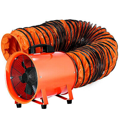 £135.98 • Buy 12  300mm Duct Fume Portable Extractor Ventilation Fan + 5m PVC Ducting Factory