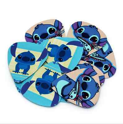 $ CDN9.06 • Buy Stitch Lilo Guitar Picks Lot Of 10 .71 Mm Acoustic Electric Free Tracking New