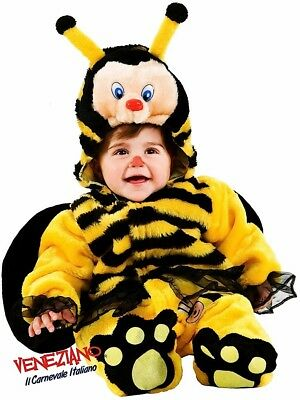 Italian Made Deluxe Baby Girls Boys Bee Halloween Fancy Dress Costume Outfit • 29.99£