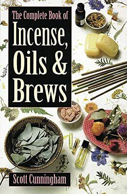 £8.99 • Buy The Complete Book Of Incense, Oils And Brews (... By Cunningham, Scott Paperback