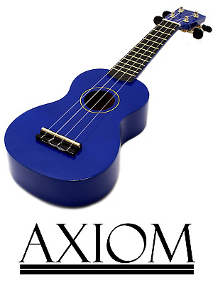 AU29.95 • Buy Axiom Spectrum Beginner Ukulele Kids Ukulele - Blue