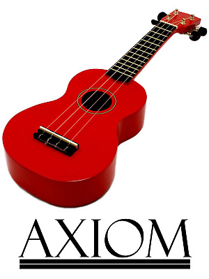 AU29.95 • Buy Axiom Spectrum Beginner Ukulele Kids Ukulele - Red