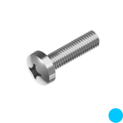 AU5.80 • Buy M3 M4 M5 M6 M8 Machine Screw Pan Head Phillips Stainless Steel 304