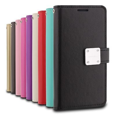 $ CDN11.84 • Buy SAMSUNG GALAXY NOTE 8 - Leather Multi-Card Wallet Case Premium Diary Pouch Cover