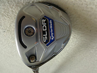 $ CDN148 • Buy LH - Taylormade SLDR 5/19* Wood W/Speeder 77 Regular Graphite Shaft