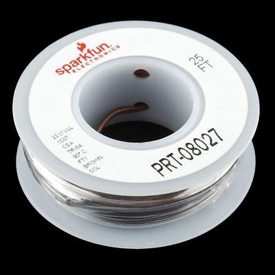 Hook-up Wire - Brown - Solid Core • 4.42£